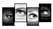 caged, haunted, framed, scarred covers